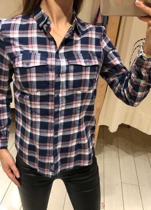 Рубашка в клетку клетчатая рубашка house есть размеры