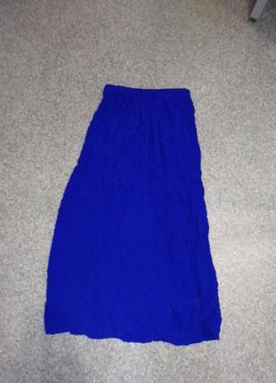 Эффектная юбка макси