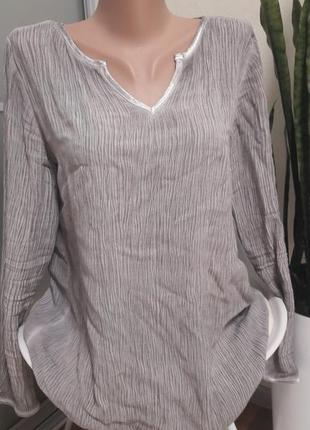 Блузка серая charles voegele