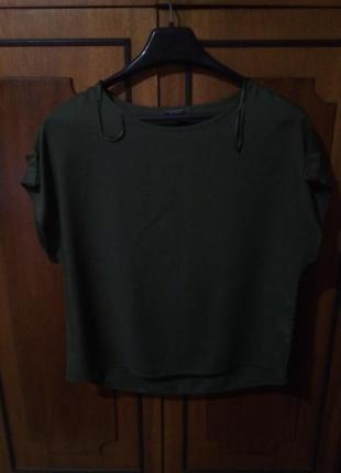 Штапельная блуза без рукавов primark