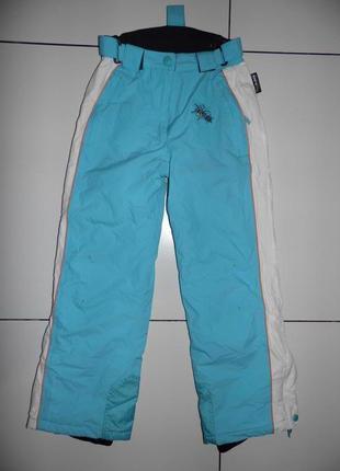 Лыжные штаны- alive 140 -thinsulate - девочке - германия - оригинал!!!