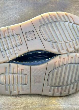 Кожаные туфли мокасины лофферы dr martens edison ( 39 размер )4 фото