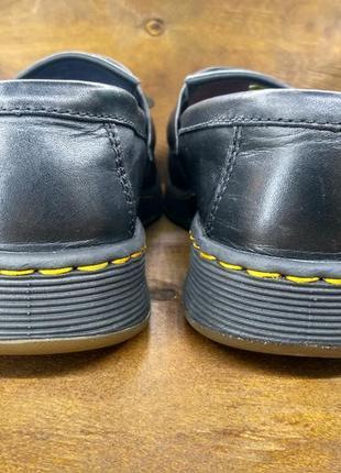 Кожаные туфли мокасины лофферы dr martens edison ( 39 размер )2 фото