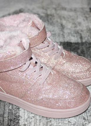 Очень красивые зимние ботинки h&m размер 32 20,5 см по стельке