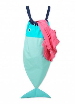 Сумка-рыба для вещей или белья от тсм tchibo