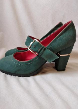Скидка!!!туфли на каблуке