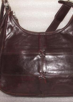 Прочная удобная сумка 100% натуральная кожа ~aldo~ канада