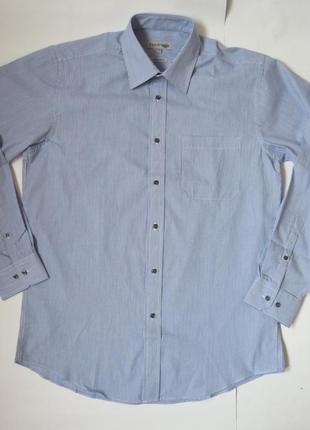 Мужская рубашка в мелкую полосочку
