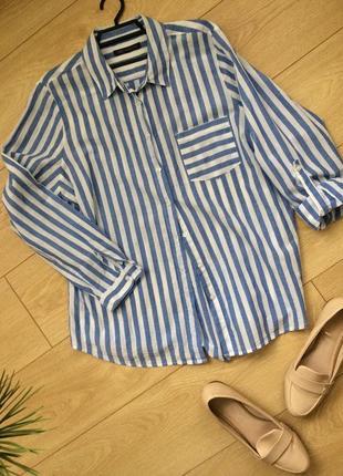 Блуза-рубашка 52/54р