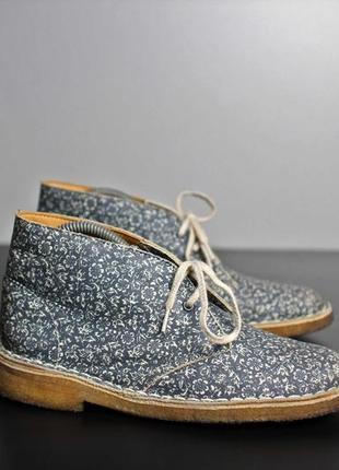 Интересная обувь clarks desert boots 38 (24 cm)