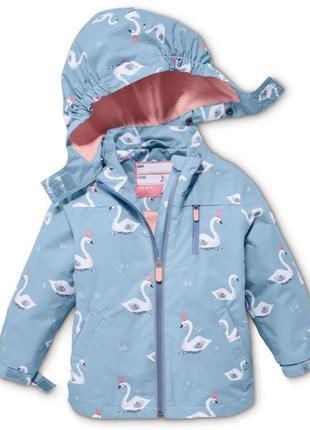 Доставка бесплатно!  куртка-дождевик, ecorepel® от tchibo, чибо. германия, размер 110-116