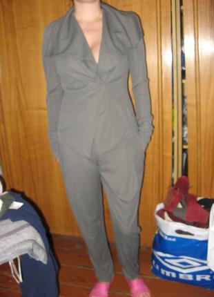 Костюм вечерний пиджак и брюки patrizia pepe оригинал размер m замеры пог 45