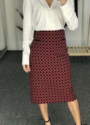 Новая юбка миди 42