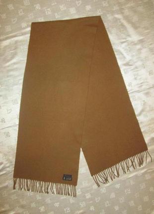 Boggi milano оригинал мужской шарф 100% шерсть как кашемир