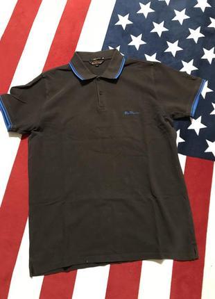 Мужская футболка поло от бренда «ben sherman»