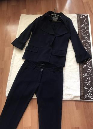 Стильный костюм пиджак брюки штаны кофта блуза