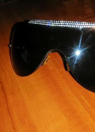 Солнцезащитные очки valentino с кристаллами swarovski
