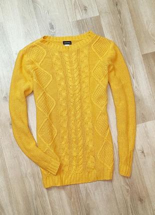 Распродажа!!!!яркий свитер с бусинами