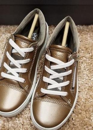 Ecco ginnie - кожаные полуботинки - 28, 294 фото