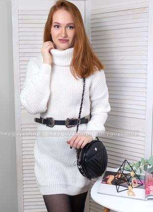 08c06f37b9143c7 Вязаное шерстяное платье теплое белое купить киев, цена - 450 грн ...
