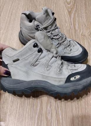 Ботинки кроссовки salomon