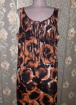 Легкое свободное платье f&f