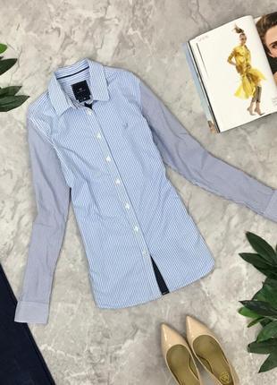 Стильная рубашка в полоску    bl1902127 classic fit