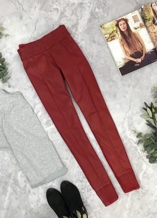 Стильные джинсы с напылением  pn1902093 zara
