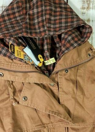 Куртка, парка khaki, горчичная3