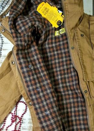 Куртка, парка khaki, горчичная4