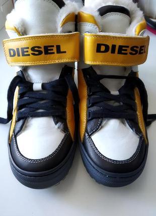 Disel зимние кроссовки