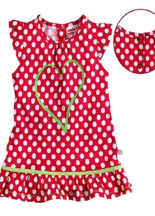 Веселое платье р.86, liegelind германия