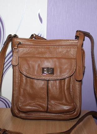 Кожаная сумка clarks индия
