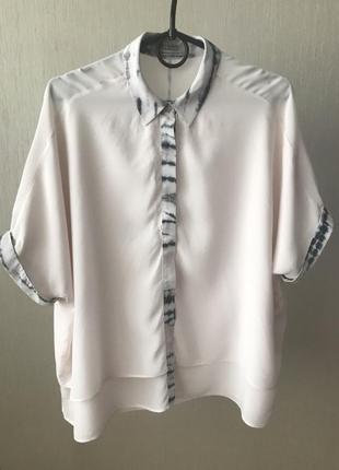 Шелковая рубашка all saints