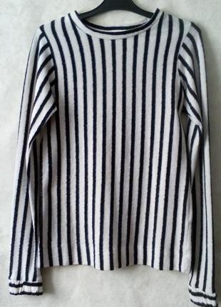Оригинальный  пушистый свитер свитер  хлопок