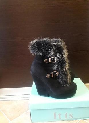 Ботинки зима с натуральным мехом