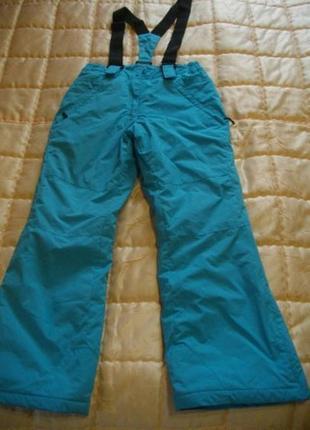 Лыжные штаны фирмы etirel на 10-12 лет