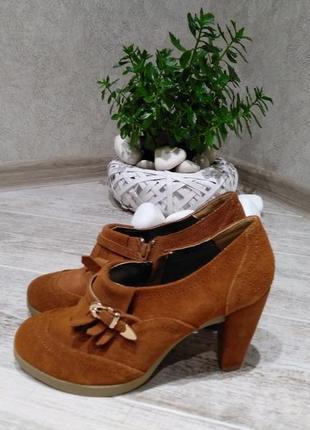 Туфли женские pier one 39 размер замша