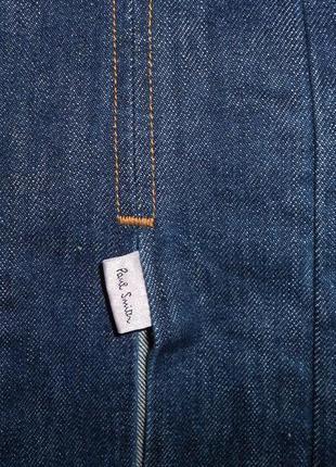 Мегаскидка!! paul smith джинсовая юбка с разрезами, ит. 46, l-ка, наш 485 фото