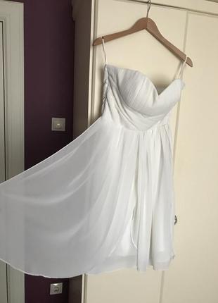 Новое шифоное платье minimum но без бирки