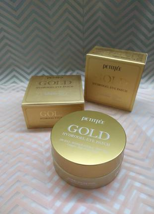Патчи 5+ petitfee gold hydrogel eye patch