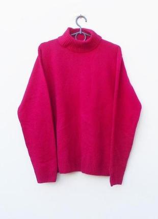 Осенний зимний мягкий шерстяной свитер с длинным рукавом