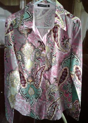 Рубашка-блуза пестрая betty barclay