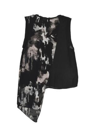 Ассиметричная майка-блуза h&m2
