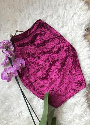 Бархатная юбка sparkle&fade