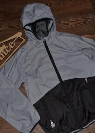 Ветровка стильная мальчику kidswear р146 сост нов