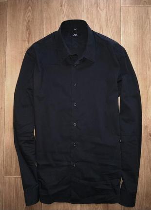 Шикарная черная рубашка acant premiere