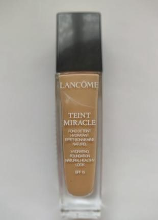 Lancome тональная основа для лица teint miracle № 03 beige diaphane, 30 мл1