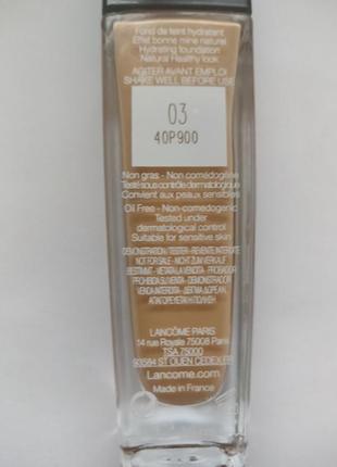 Lancome тональная основа для лица teint miracle № 03 beige diaphane, 30 мл3