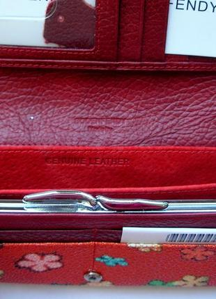 Большой кожаный кошелек скат, винил + 100% натур. кожа, есть доставка бесплатно3
